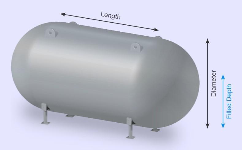 Horizontal Capsule Tank