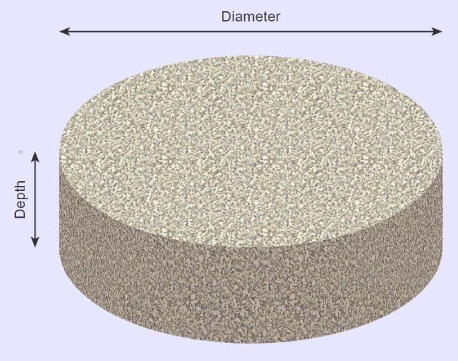 stone calculator circular