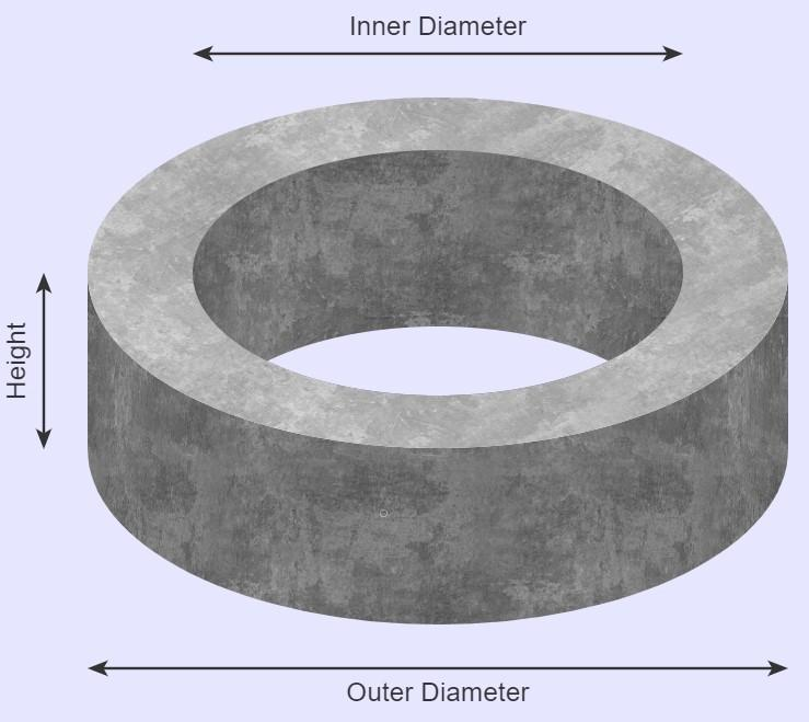 Concrete Calculator - Circular Slabs and Tubes