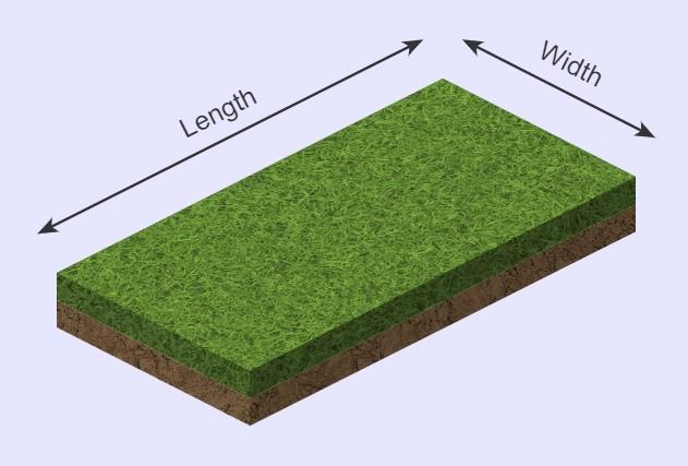 Sod calculator square