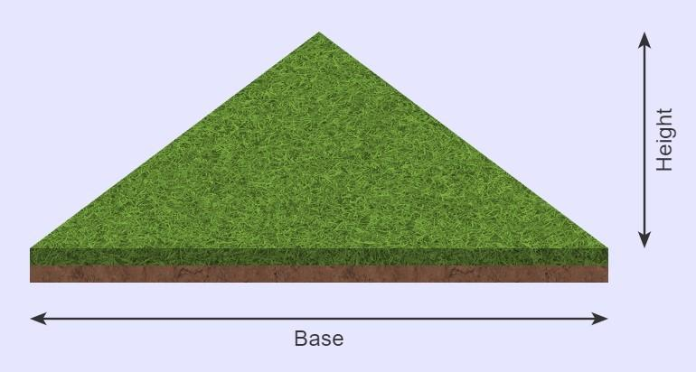 Sod calculator triangle